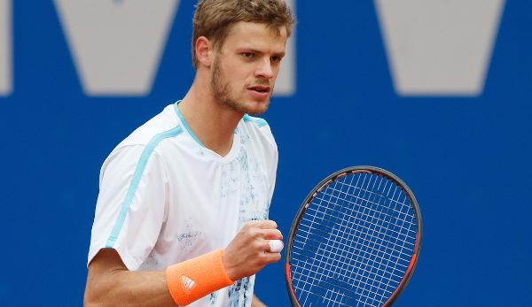Tennisspielern Barthel gewinnt Turnier in Prag