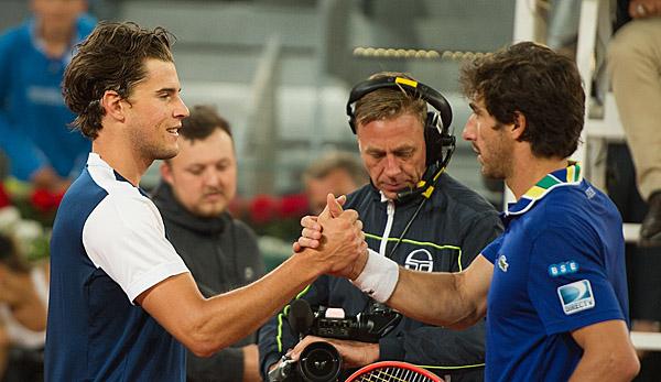 Tennis: Finalsieg gegen Thiem: Nadal gewinnt ATP-Turnier in Madrid
