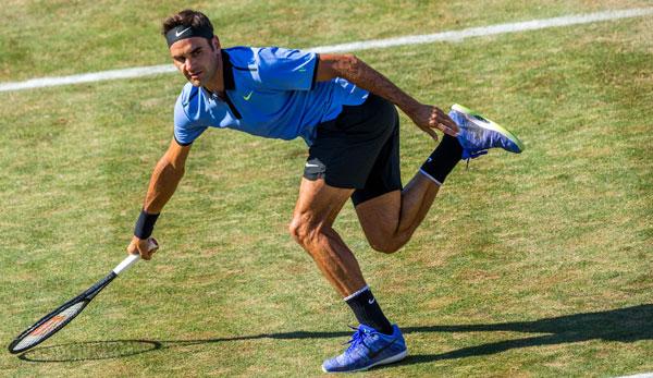 Federer trifft in Halle in der Startrunde auf Lu Yen-Hsun