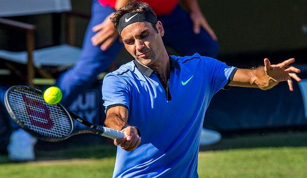 Roger Federer mit dem 1100. Sieg in die Achtelfinals