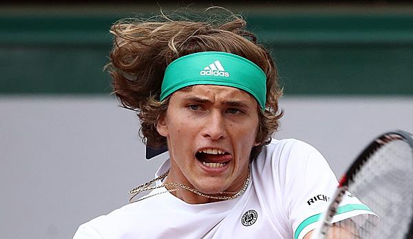 Alexander Zverev in Halle im Halbfinale