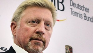 "Der neue ""Head of Men's Tennis"" im DTB: Boris Becker"