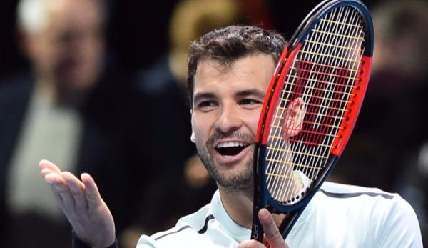 Bulgare Dimitrow gewinnt Tennis-Weltmeisterschaft