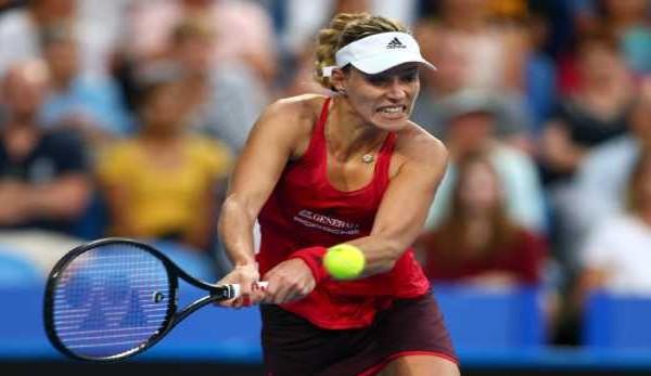 Kerber bringt deutsches Tennis-Team in Führung