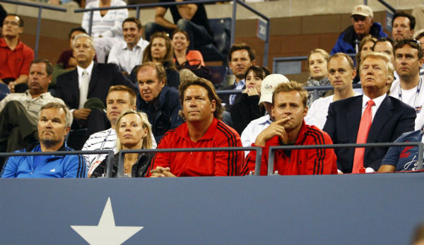 Donald Trump bei den US Open