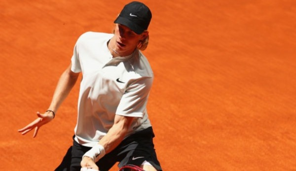 Denis Shapovalov in Madrid