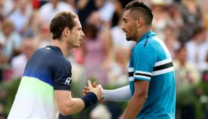 Andy Murray, Nick Kyrgios