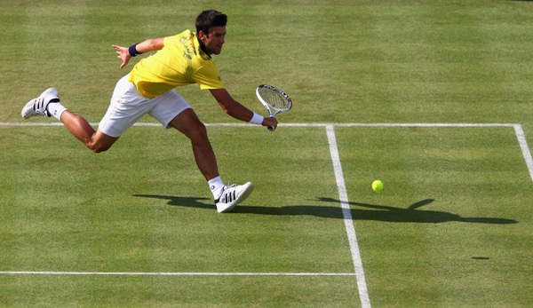 Djokovic spielt in Queen's.