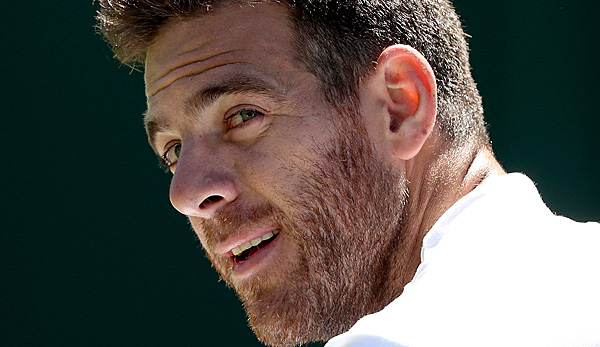 Juan Martin del Potro hat 2018 in Mexiko gut lachen