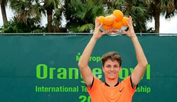 Miomir Kecmanovic gewinnt Orange Bowl