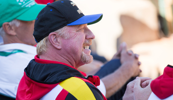 Boris Becker war emotional voll involviert