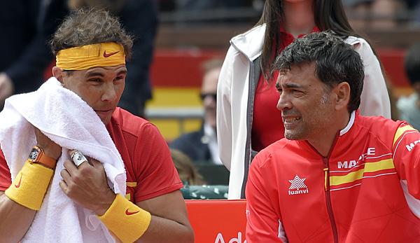 Davis Cup: Deutschland verliert Viertelfinale gegen Spanien 2:3
