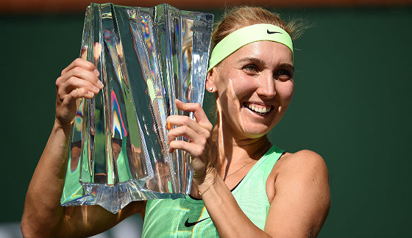 Elena Vesnina gewann sensationell in Indian Wells