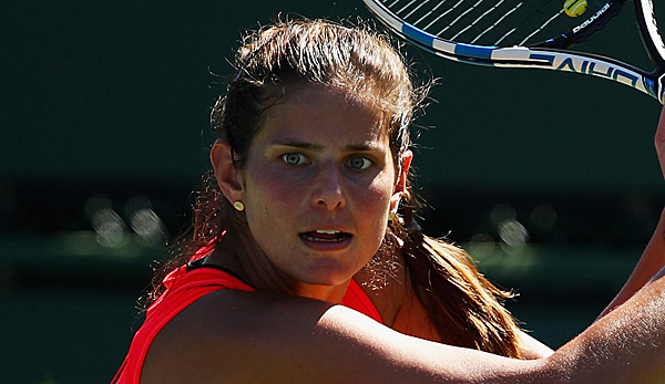 Julia Görges hat ihren Groove in Indian Wells gefunden