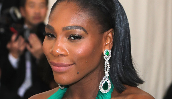 Serena Williams im Mutterglück
