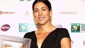 "Garbine Muguruza erhält den ""Player of the Year""-Award"