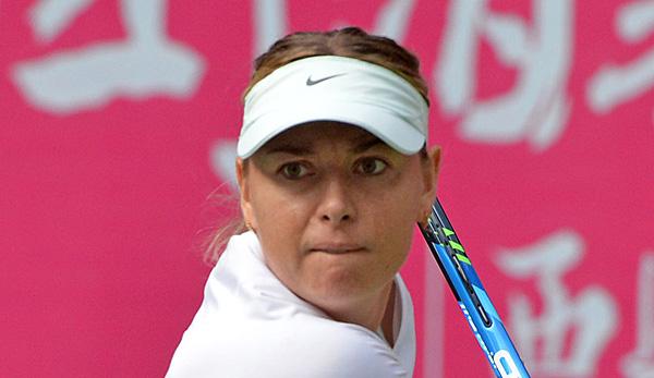 Scharapowa feiert ersten Titel nach Doping-Sperre