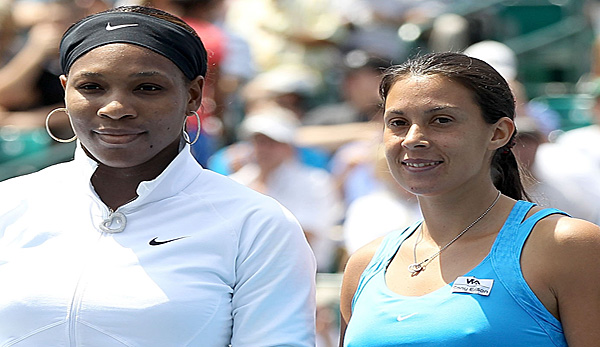 Serena Williams und Marion Bartoli in Stanford 2011