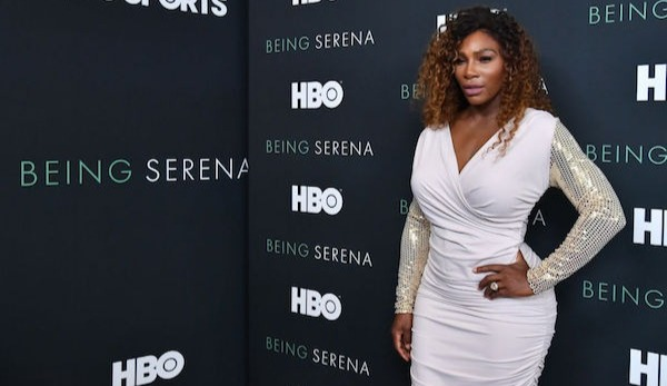 "Serena Williams bei der Premiere von ""Being Serena"""