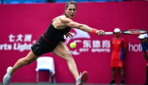 Andrea Petkovic ist gegen Wang ohne Chance