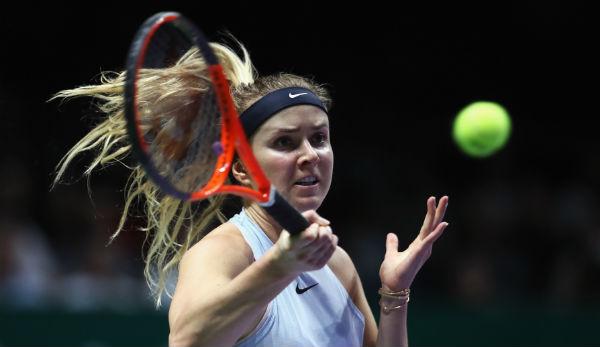 WTA-Finale: Debütantin Garcia im Halbinale - Halep zeigt Nerven