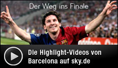 Champions-League, Finale, FC Barcelona, Sky, Video