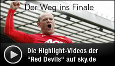 Champions-League, Finale, Manchester United, Sky, Video