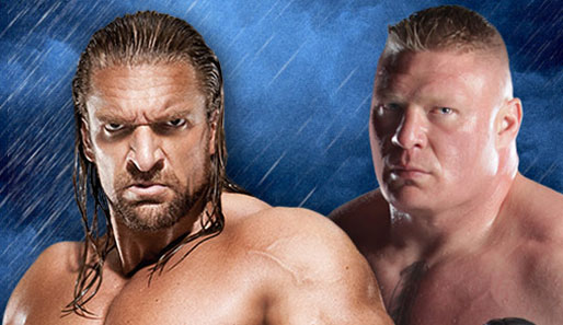 Im Main Event des SummerSlam trifft Triple H auf The next big Thing Brock Lesnar