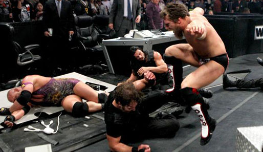 The Shield, Ryback und Team Hell No zerlegten das Barclays Center