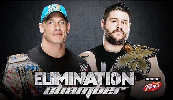 US Champ John Cena trifft bei Elimination Chamber auf NXT-Champion Kevin Owens