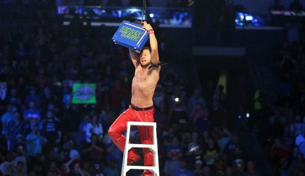 Der zweifache NXT-Champ Shinsuke Nakamura zählt zu den Favoriten im MitB-Match