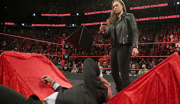 Wrestling Elimination Chamber 2018 Die Analyse Rousey