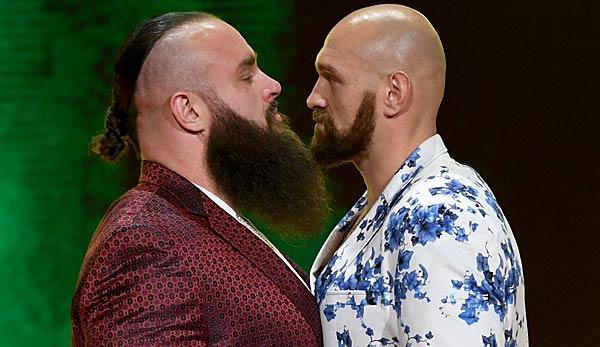 WWE: Crown Jewel 2019 mit Tyson Fury heute live im TV und Livestream
