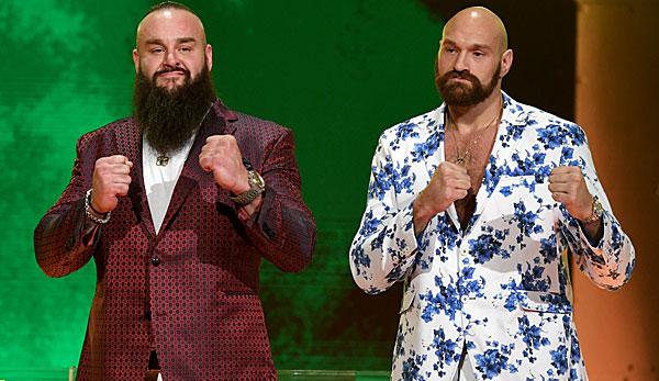 WWE: Skandalboxer Tyson Fury steigt in den Wrestlingring