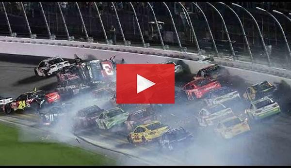 NASCAR: Horror-Crash ohne Verletzte